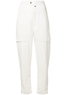 Isabel Marant tapered panel cropped jeans