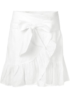 Isabel Marant Tempster wrap-effect skirt
