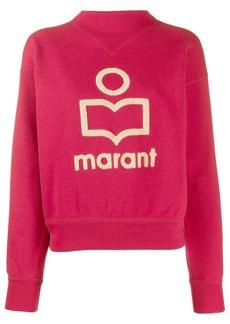 Isabel Marant textured detail sweatshirt