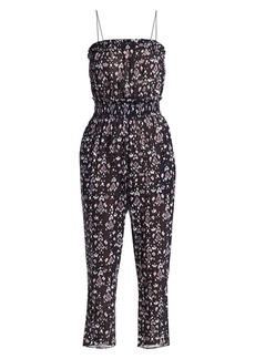 Isabel Marant Timea Print Sleeveless Jumpsuit
