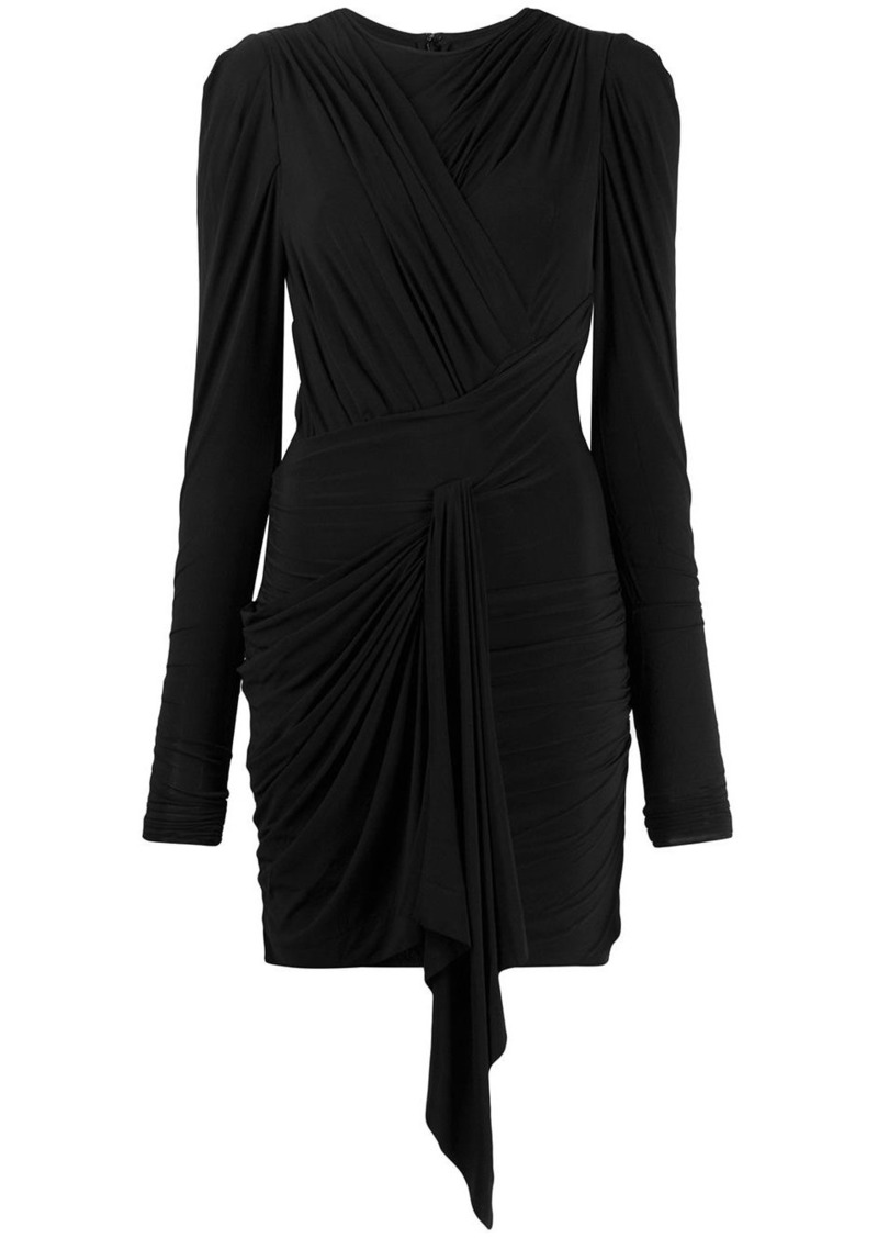 Isabel Marant Tonia ruched cocktail dress