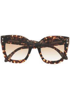 Isabel Marant tortoiseshell-frame sunglasses