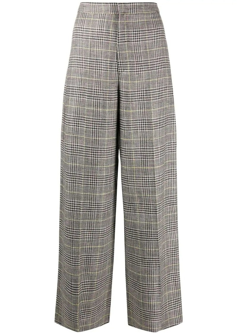 Isabel Marant Trevi checked trousers