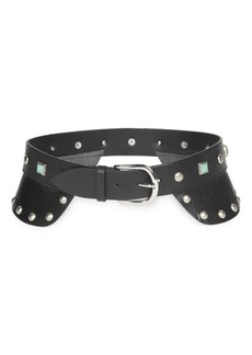 Isabel Marant Tricy Studded Leather Belt