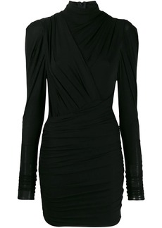 Isabel Marant turtle-neck fitted dress
