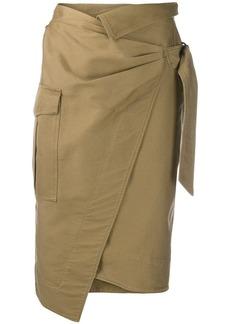 Isabel Marant twisted skirt