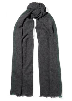 Isabel Marant Vadim Fringed Striped Cashmere Scarf