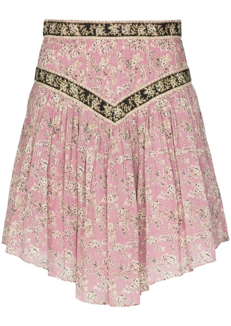 Isabel Marant Valerie flared mini skirt