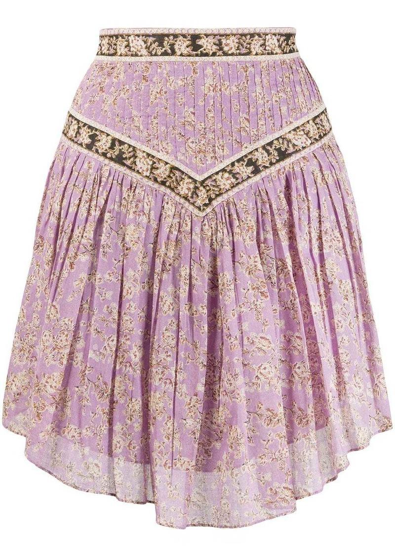 Isabel Marant Valerie floral-print skirt