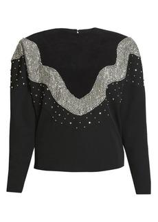 Isabel Marant Valia Embellished Wool Sweater