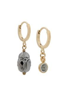 Isabel Marant Vedette mismatched hoop earrings