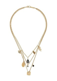 Isabel Marant Vedette multi-chain necklace