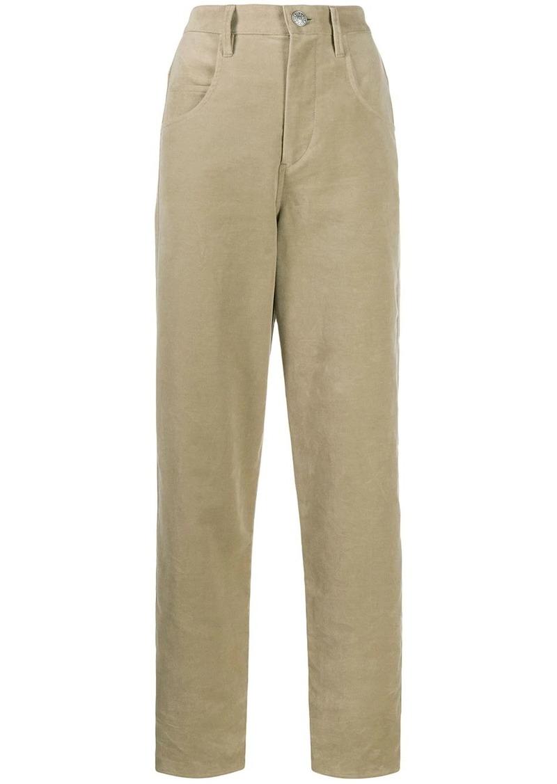 Isabel Marant velvet Debora trousers