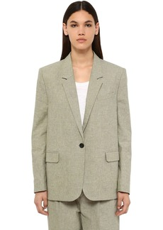 Isabel Marant Verix Cotton Canvas Blazer