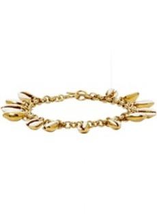 Isabel Marant White & Gold New Amer Bracelet