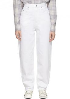 Isabel Marant White Corsy Jeans