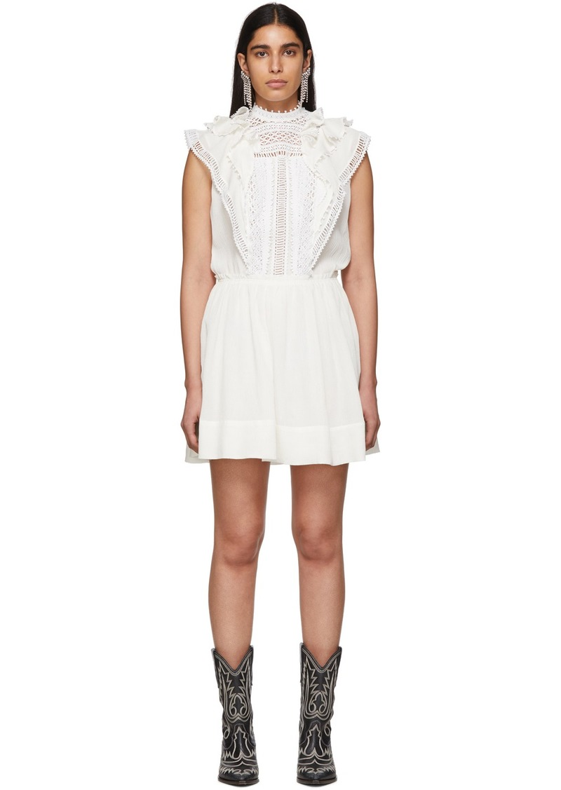 Isabel Marant White Ianelia Dress