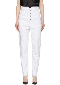 Isabel Marant White Rei Jeans