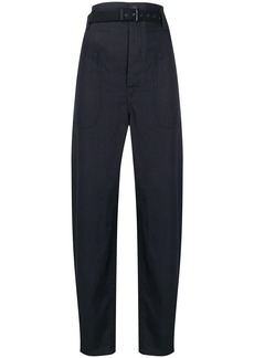 Isabel Marant wide leg high waisted trousers