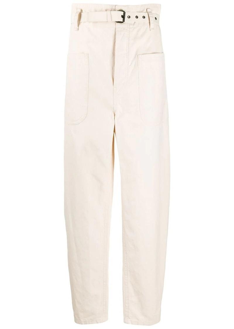 Isabel Marant wide leg straight trousers