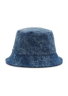 Isabel Marant Women's Haley Denim Bucket Hat - Blue - Moda Operandi