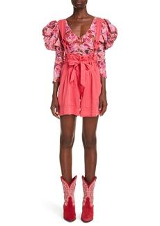Women's Isabel Marant Flink Removable Strap Shorts