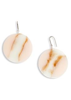 Women's Isabel Marant Large Disc Drop Earrings