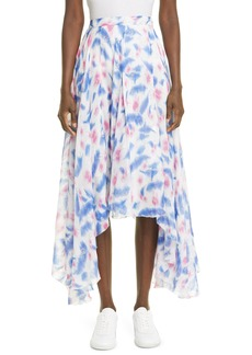 Women's Isabel Marant Namoni Metallic Fil Coupe Handkerchief Skirt