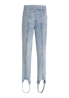 Isabel Marant Women's Nanouli Stretch Stirup Skinny Jeans - Light Wash - Moda Operandi