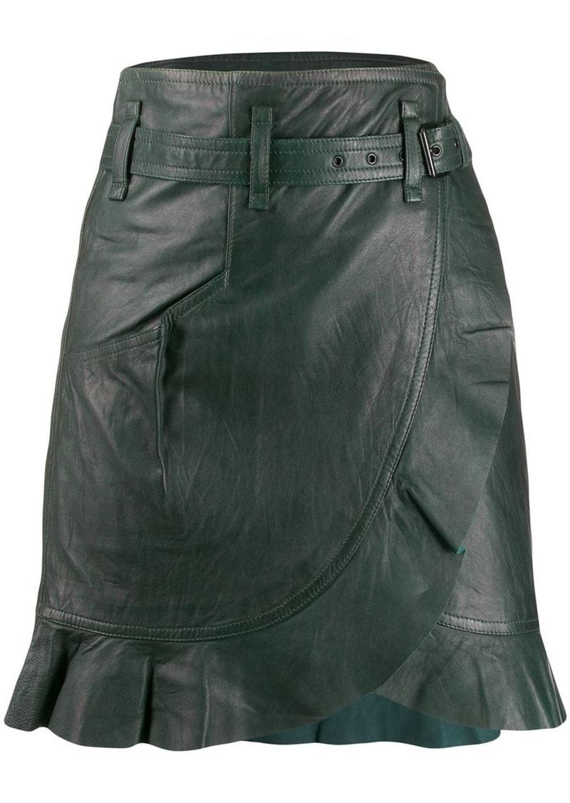 Isabel Marant wrap-front skirt