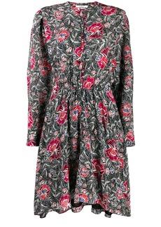 Isabel Marant Yandra floral print dress