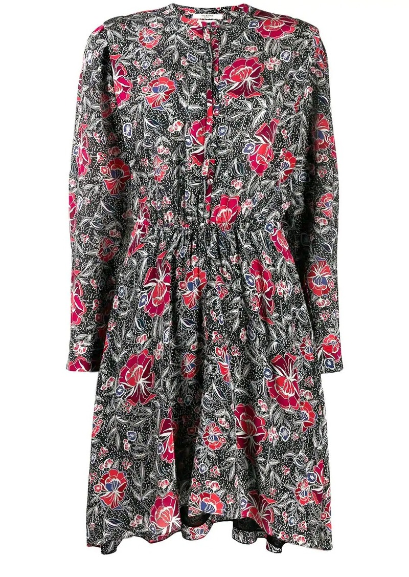 Isabel Marant Yandra floral print dress