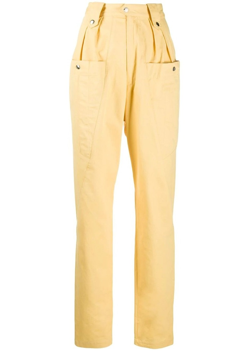 Isabel Marant Yerris high waisted trousers
