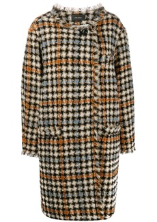 Isabel Marant Zaban oversized tweed coat