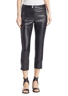 Isabel Marant Zaperry Faux-Leather Moto Pants