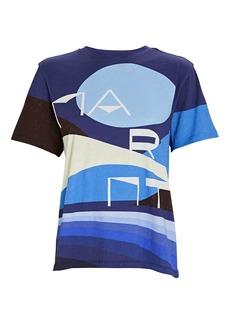 Isabel Marant Zewel Graphic Print T-Shirt