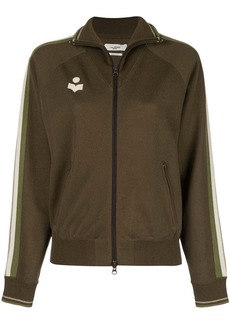 Isabel Marant zip front logo track jacket