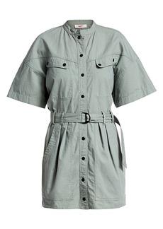 Isabel Marant Zolina Belted Utility Dress