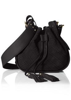 Isabella Fiore Women's U-Turn Drawstring Bucket Bag