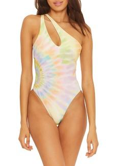 Isabella Rose Joni Asymmetrical One-Piece Swimsuit