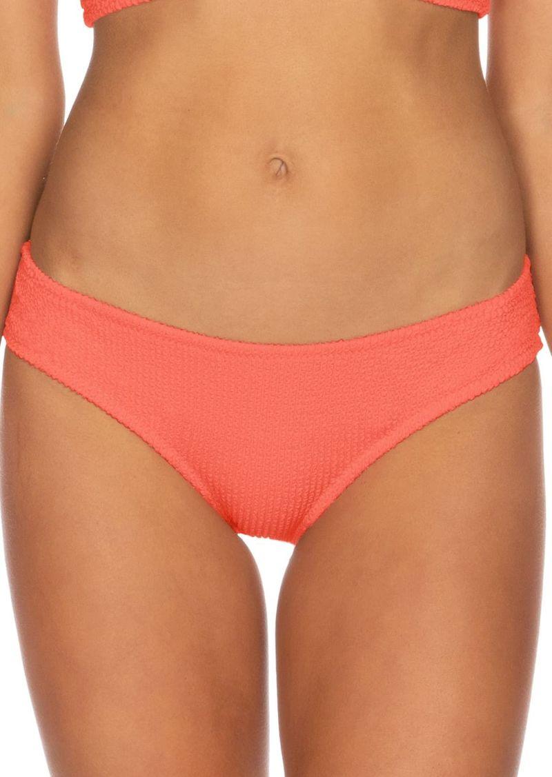 Isabella Rose Pucker Up Seersucker Bikini Bottoms