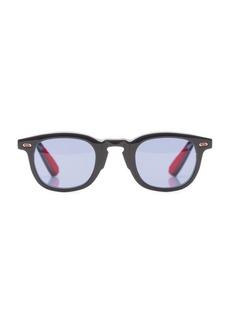 Isaia 44MM Round Square Sunglasses