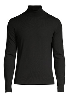 Isaia Classic-Fit Merino Wool Turtleneck