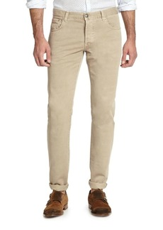 Isaia Classic Five-Pocket Jeans