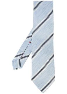Isaia contrast stripe tie