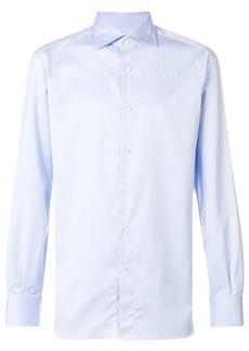 Isaia cutaway collar shirt