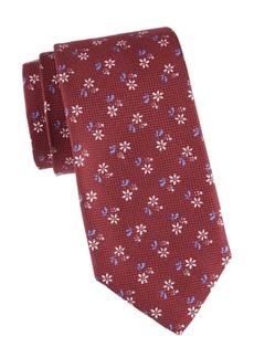 Isaia Floral Silk Tie