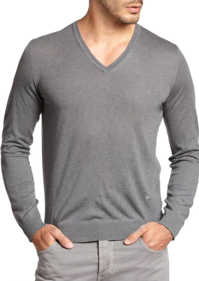 ISAIA Cashmere V-Neck Sweater