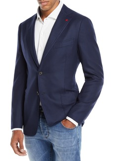 Isaia Men's Cortina Wool Blazer