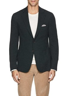 Isaia Men's Cortina Wool-Blend Two-Button Sportcoat